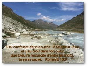 Romains 10.9
